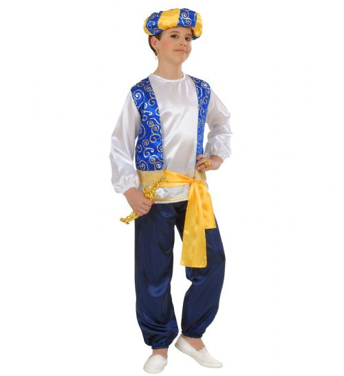 Boys Arab Prince Costume Fancy Dress